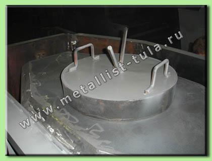 Металлическая форма кабельного колодца связи ККС-3-10.
